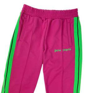 Palm Angels Pink & Green Sweatpants