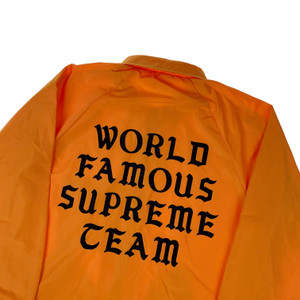 Supreme World Famous Coach Jacket