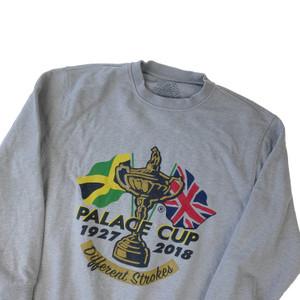 Palace Par Grey Sweatshirt