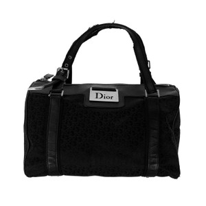 Dior Black Monogram Handbag