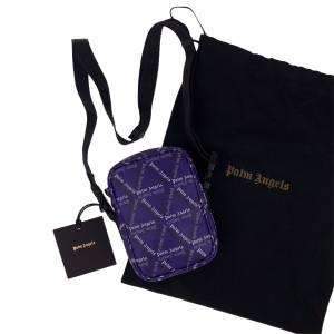 Palm Angels Purple Storm Monogram Cross Body Bag