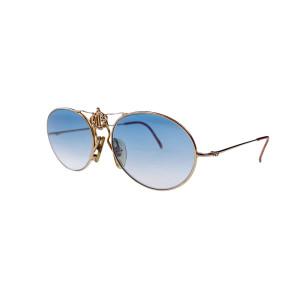 Dior 2460 Sunglasses w/ Custom Baby Blue Gradient Lenses