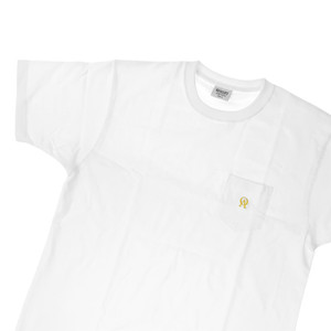 Oliver's Archive Heavyweight Front Pocket White T Shirt