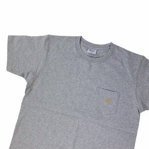 Oliver's Archive Heavyweight Front Pocket Grey T Shirt