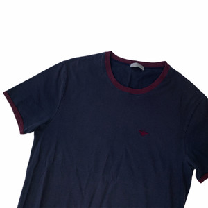 Dior Navy Bee Embroidered T Shirt