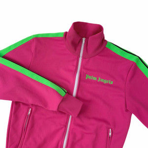 Palm Angels Pink & Green Track Jacket