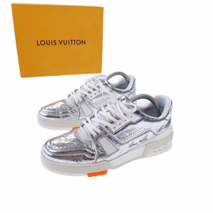 Louis Vuitton Silver Trainers