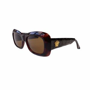 Versace MOD 417/P COL 900 Croc Leather Sunglasses