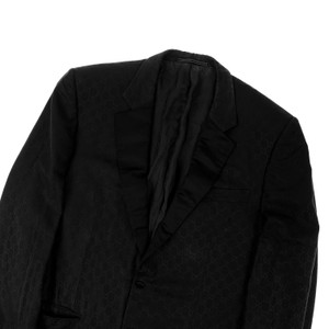 Gucci by Tom Ford Black Monogram Blazer