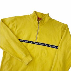 Supreme World Famous Yellow 1/4 Zip