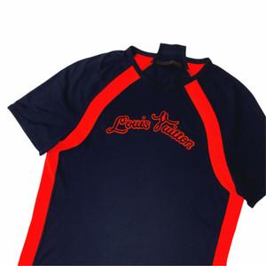 Louis Vuitton S/S 13 Neon Orange Script T Shirt