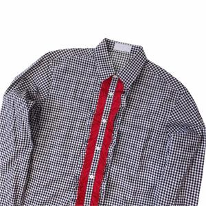 Prada A/W 13 Ruffle Shirt