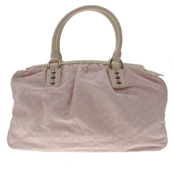 Louis Vuitton Pink Denim Handbag