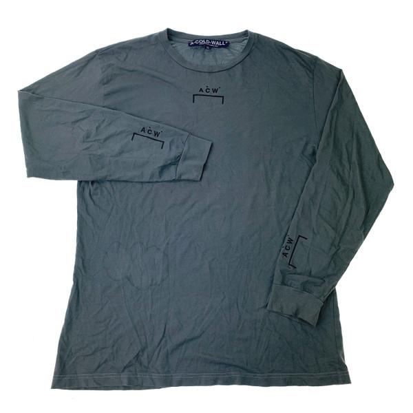 A-COLD-WALL* Grey Long Sleeve T Shirt