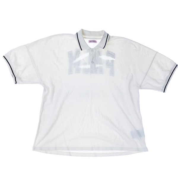 Palm Angels Torn Polo Shirt