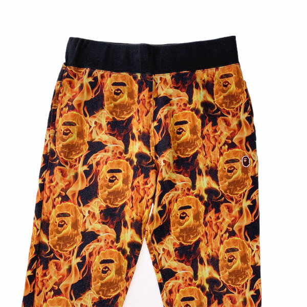 Bape Flame Sweatpants