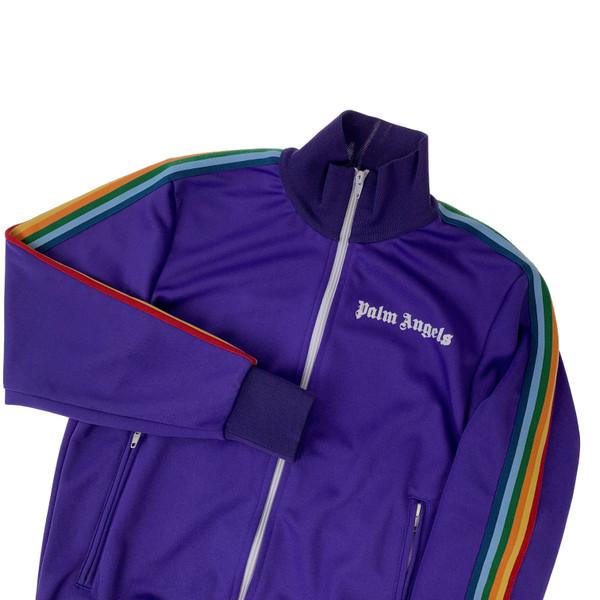Palm Angels Purple Track Jacket
