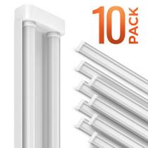 SunLake Lighting utility frosted LED shop light. 10 Pack.