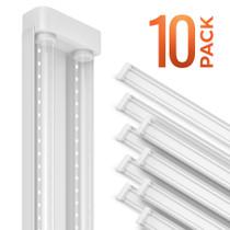 SunLake Lighting utility clear LED shop light. 5000K daylight 40W work light.