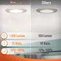 SunLake Lighting 1,050 lumens, 15 watts, 10%-100% dimming