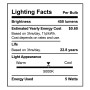 SunLake Lighting globe LED Lamp bulb G25 40 watt replacement E26 screw base single bulb image 5000K