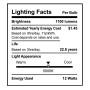 SunLake Lighting Standard LED Lamp bulb A19 75 watt replacement E26 screw base single bulb image 5000K