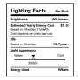 SunLake Lighting Standard LED Lamp bulb A19 60 watt replacement single bulb image E26 screw base 3000K