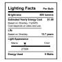SunLake Lighting Standard LED Lamp bulb A19 60 watt replacement single bulb image E26 screw base 2700K