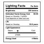 SunLake Lighting B11 candelabra LED Lamp bulb B11 40 watt replacement single bulb image E12 screw base. 2700K.