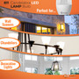 B11 LED Candelabra Bulb - 4W=40W Replacement - Dimmable - E12 Base