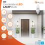 SunLake Lighting B11 candelabra LED Vintage Edison Lamp bulb B11 40 watt replacement, 4 watt LED, dimmable, 150 degree beam angle, 350 lumens, 10-year warranty, damp rated