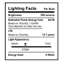 SunLake Lighting B11 candelabra LED Vintage Edison Lamp bulb B11 40 watt replacement single bulb image E12 screw base