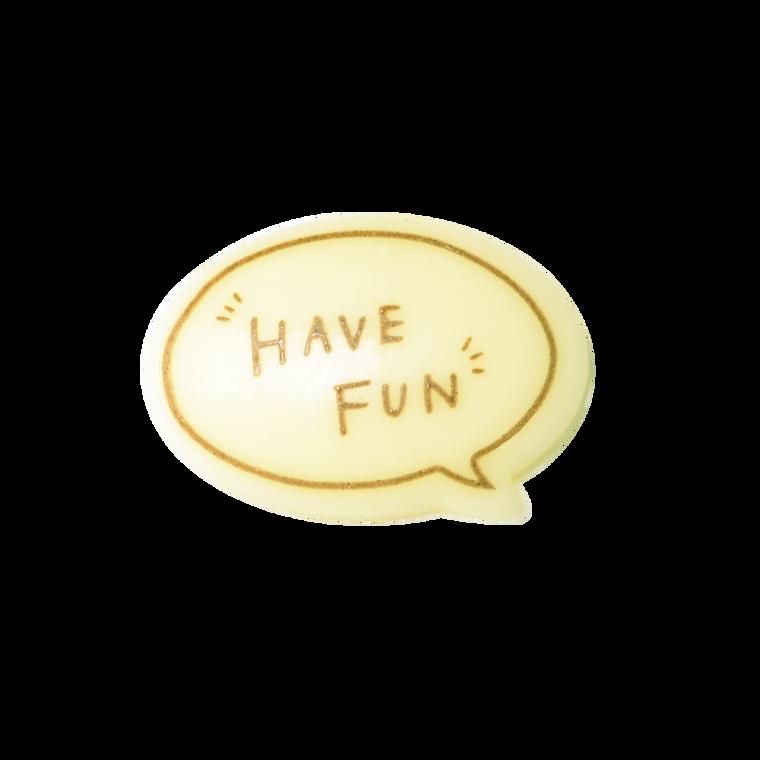 對話框朱古力牌(Have Fun)(*此類產品必須購買本店食品方可一同選購,恕不獨立銷售。)