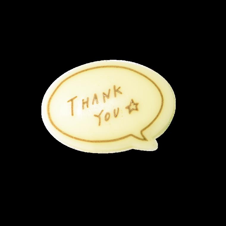 對話框朱古力牌(Thank You)(*此類產品必須購買本店食品方可一同選購,恕不獨立銷售。)