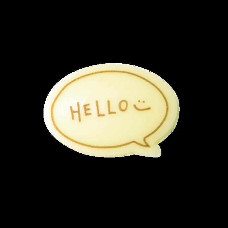對話框朱古力牌(Hello)(*此類產品必須購買本店食品方可一同選購,恕不獨立銷售。)