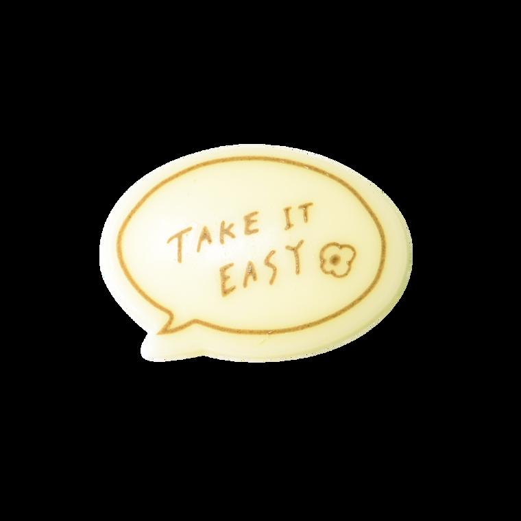 對話框朱古力牌(Take It Easy)(*此類產品必須購買本店食品方可一同選購,恕不獨立銷售。)