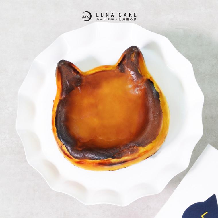 巴斯克芝士蛋糕 - 原味  (期間限定‧ねこ)