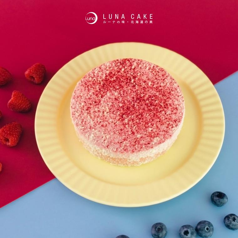 【7-9月期間限定】Berry Berry 雙層芝士蛋糕