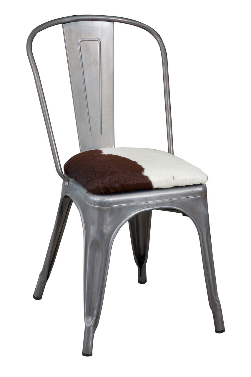 Wondrous Tolix Cowhide Chair Tol32 City Cows Squirreltailoven Fun Painted Chair Ideas Images Squirreltailovenorg