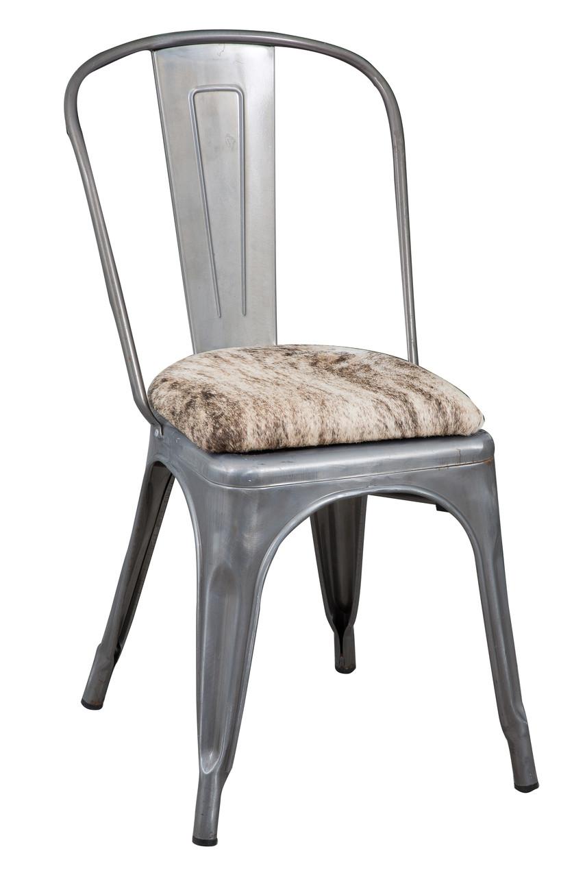 Tolix Cowhide Chair Tol45 City Cows