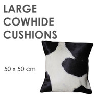 Large Cowhide Cushions