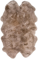 Brown Taupe Quarto Sheepskin Rug