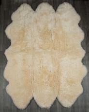Champagne Sexto Sheepskin Rug (200x150cm)