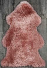 Rose Single Sheepskin Rug