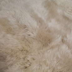 oyster sexto sheep skin rug