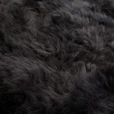 Slate grey quatro sheep skin rug
