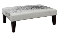 3ft x 2ft Cowhide Footstool FST870