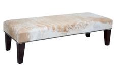 4ft x 1.5ft Cowhide Footstool FST913