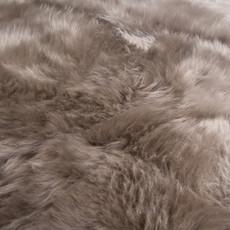Taupe Double Sheepskin Rug
