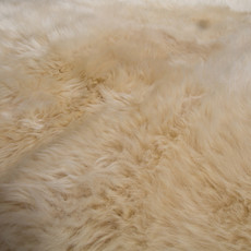 Champagne Double Sheepskin Rug